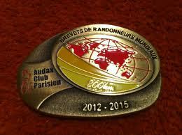 medalha 200km do quadriênio 2011-2015