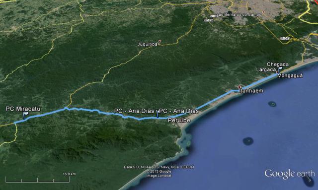BRM 200km Mongaguá